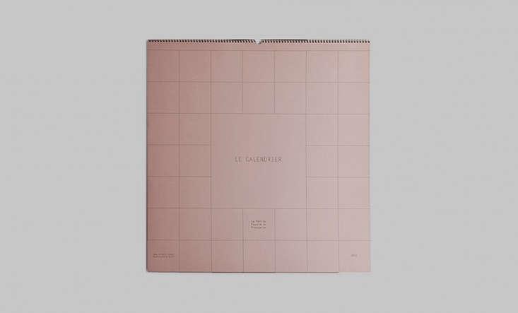 papeterie francaise wall calendar 2018