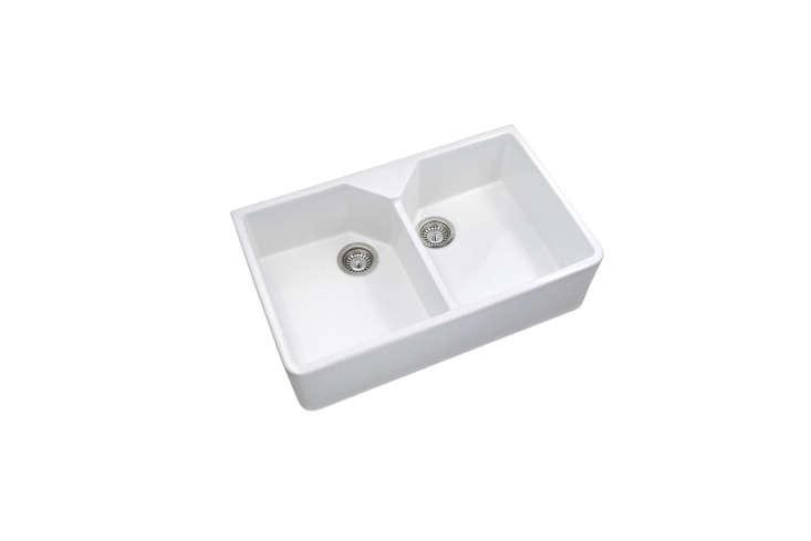 the rak ceramics gourmet sink double bowlis £\204 (\$\27\2) on amazon uk. 15