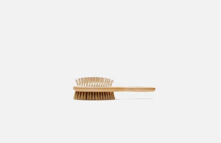 German brush company Redecker also makes canine-friendly goods: TheirDog Brush has wooden pins on one side and bristles on the other; $ via The Line.