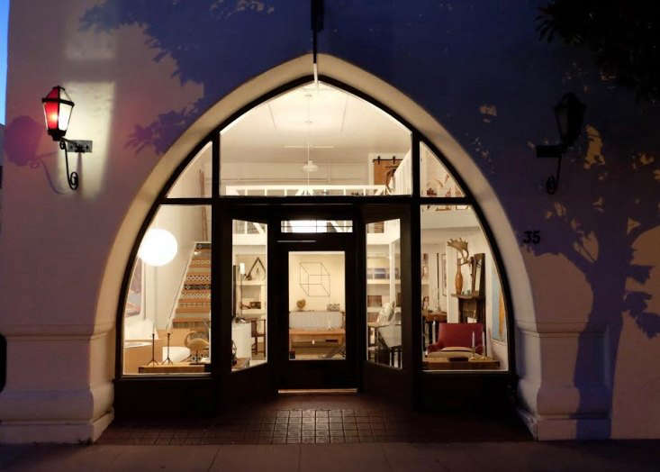 the shop&#8\2\17;s charming entry at night. 14