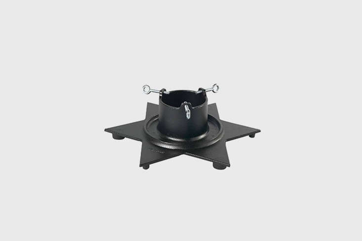 The Skeppshult Cast Iron Star Christmas Tree Stand is available directly through Skeppshult, makers of cast iron cookware and other durable home goods.