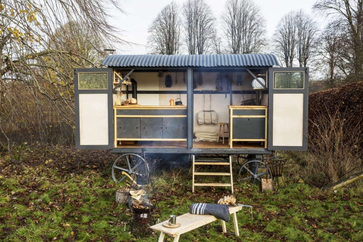 the kitchen, formerly a shepherd&#8\2\17;s hut (a portable structure that o 9