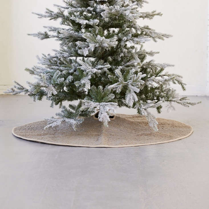 The Woven Jute Tree Skirt is $loading=