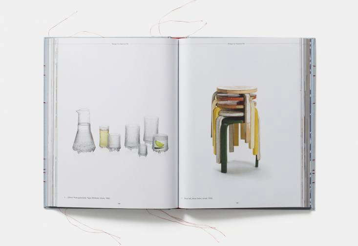 the red thread book scandinavian stools glassware