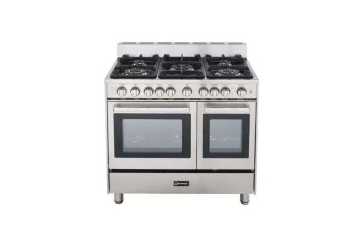 lewis integrated the client&#8\2\17;s existing range, a double oven gas ran 18