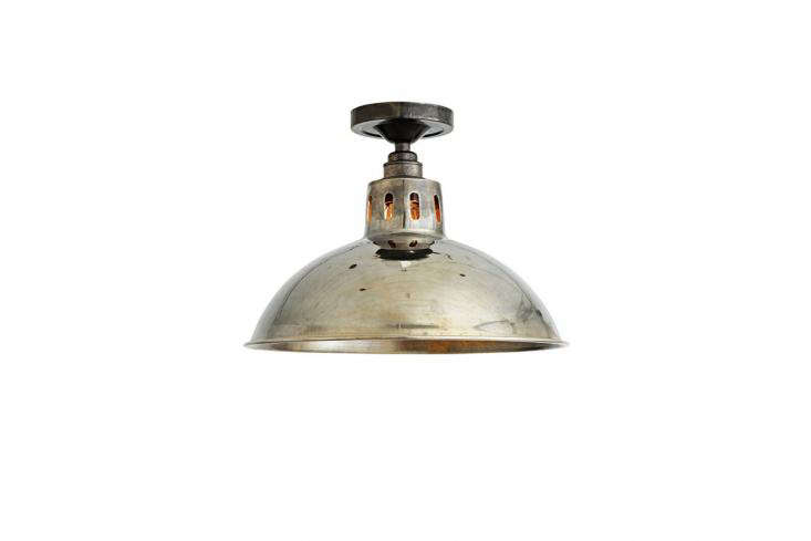 The domedIndustrial Ceiling Light, inspired by the &#8