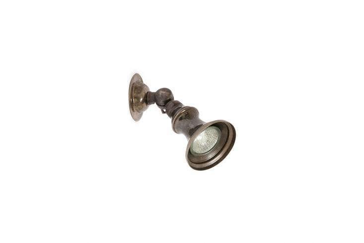 TheRustic Brass Spotlight evokes old Ireland; €88, or $5..