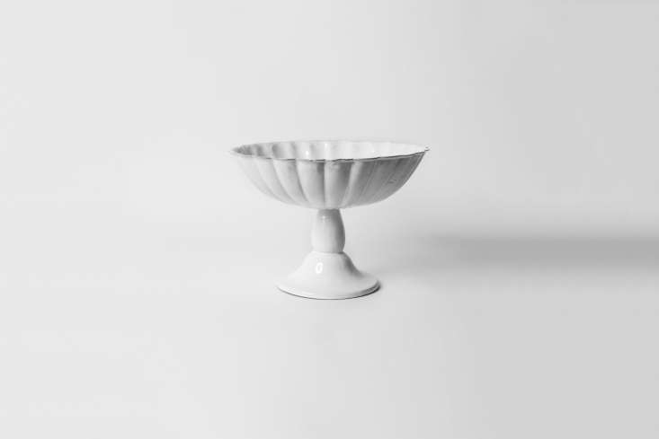 the astier de villatte peggy fruit stand large is £\285 (\$385) at petersham n 18