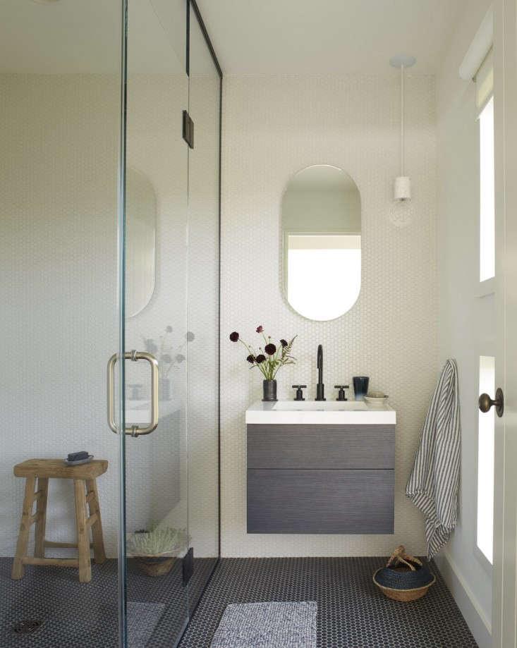 bathroom mass cottage floating vanity black floor