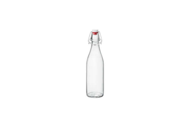 The Instant Kitchen Kit 20 Remodelista Favorites on Amazon Prime The classic Italian Bormioli Rocco Giara Clear Glass Bottle can be used to serve water and other drinks, as a vase, and storage bottle; \$7.5\1 on Amazon.