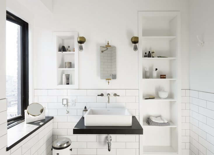 proof that a bright white scandi inspired bath never gets old. photograph by ma 9