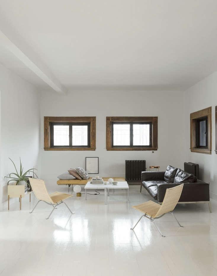 the living area is camilla&#8\2\17;s ode to danish designer poulkjærholm 19