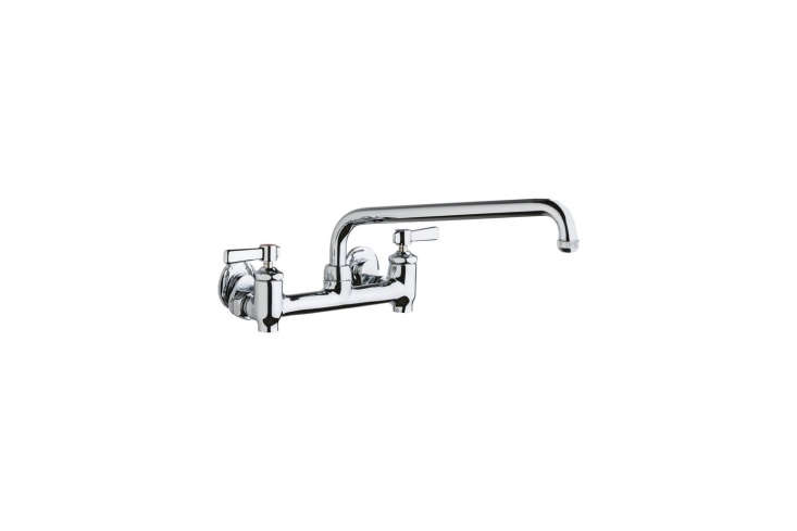 The Chicago Faucets Universal Hot & Cold Water Sink Faucet is $6.6