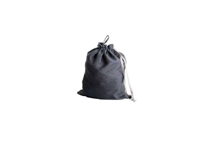 source a linen drawstring bag from etsy, like the large linen laundry bag(sho 21