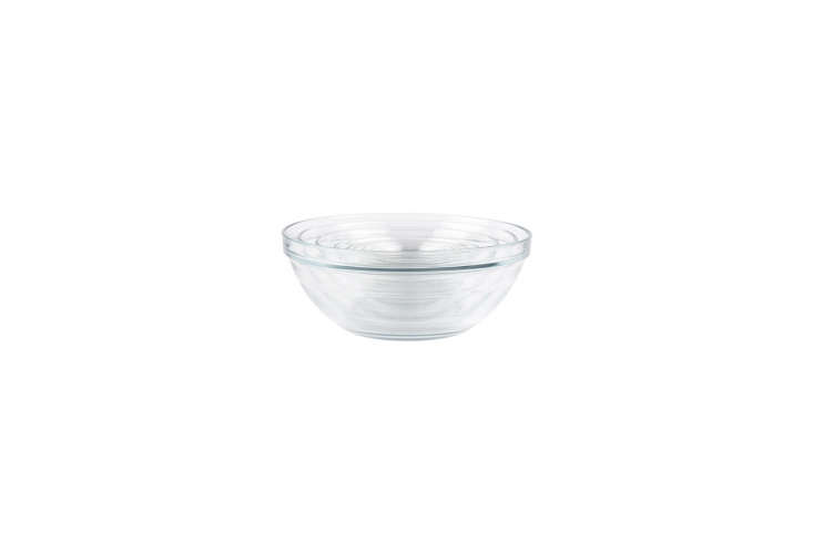 The Instant Kitchen Kit 20 Remodelista Favorites on Amazon Prime The Duralex Lys Stackable \10 Piece Bowl Set has bowls sized for mixing and prep; \$39.49 for the set on Amazon.