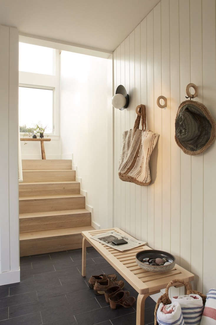 entryway chilmark cottage shiplap walls
