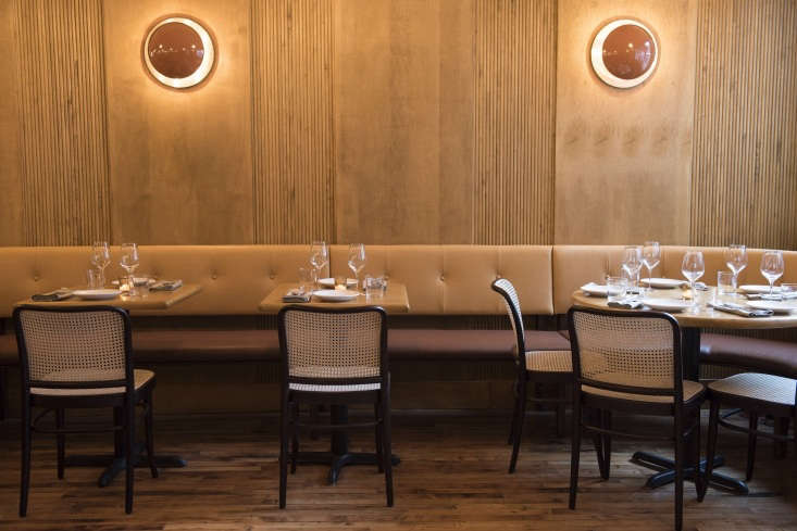 on our list of new places to visit in brooklyn: fausto, with warm interiors ins 9