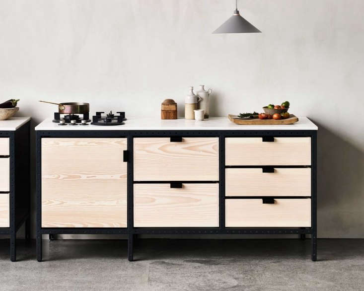 frama in copenhagen offers a series of kitchen modules called the studio kitche 9