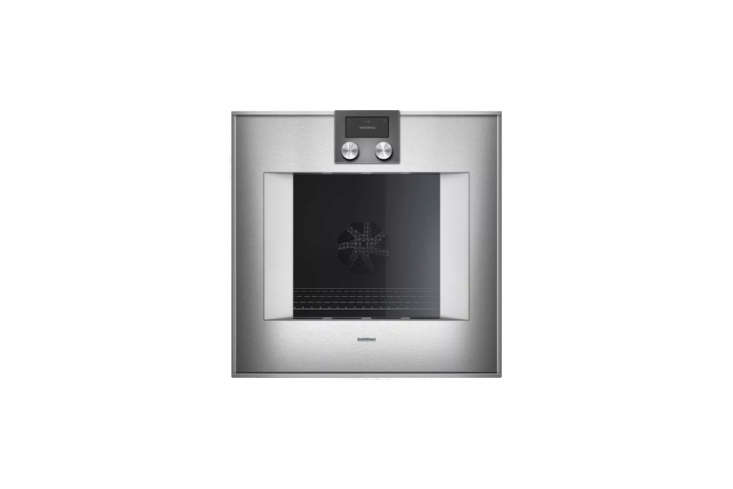 the gaggenau 400 series \24 inch single electric wall oven is available at aj m 11