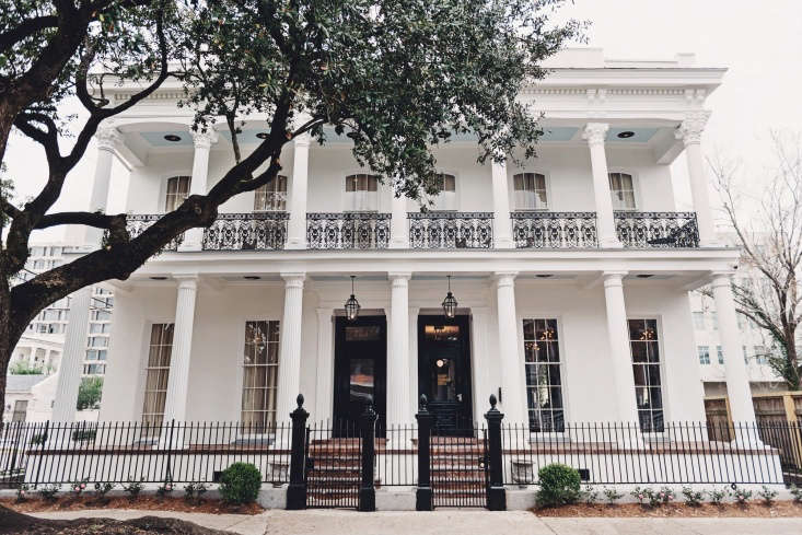 henry hall hotel new orleans exterior white southern