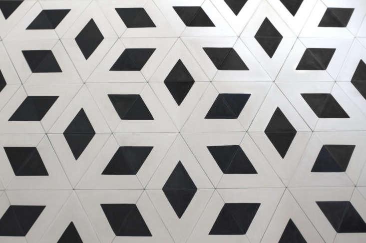 huguet mallorca cement tile black white