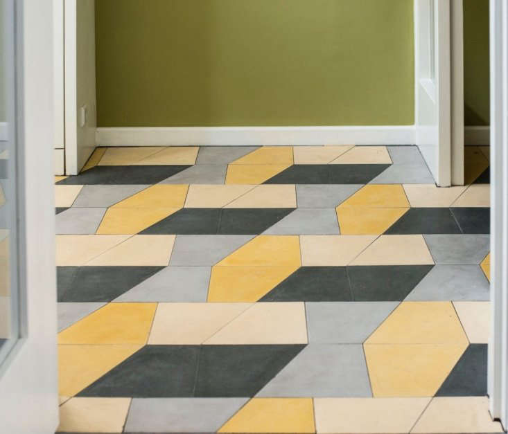 huguet mallorca cement tiles black yellow blue