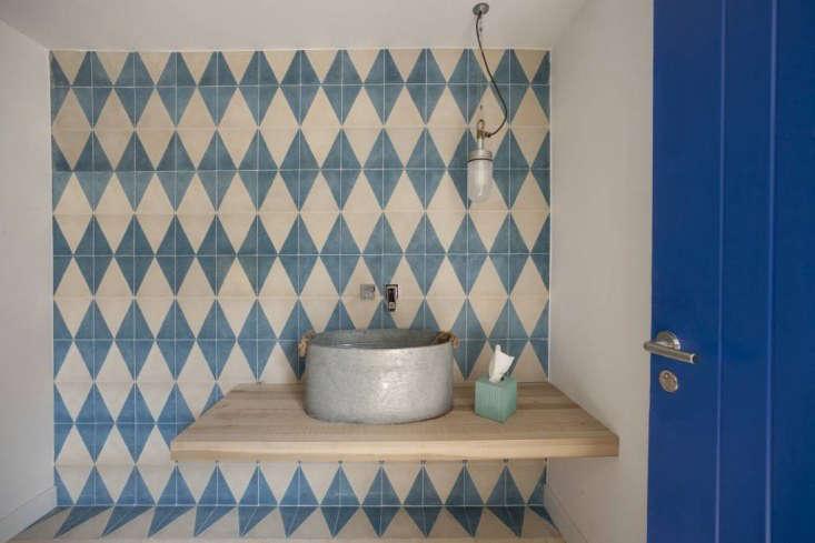 huguet mallorca cement tiles blue pattern