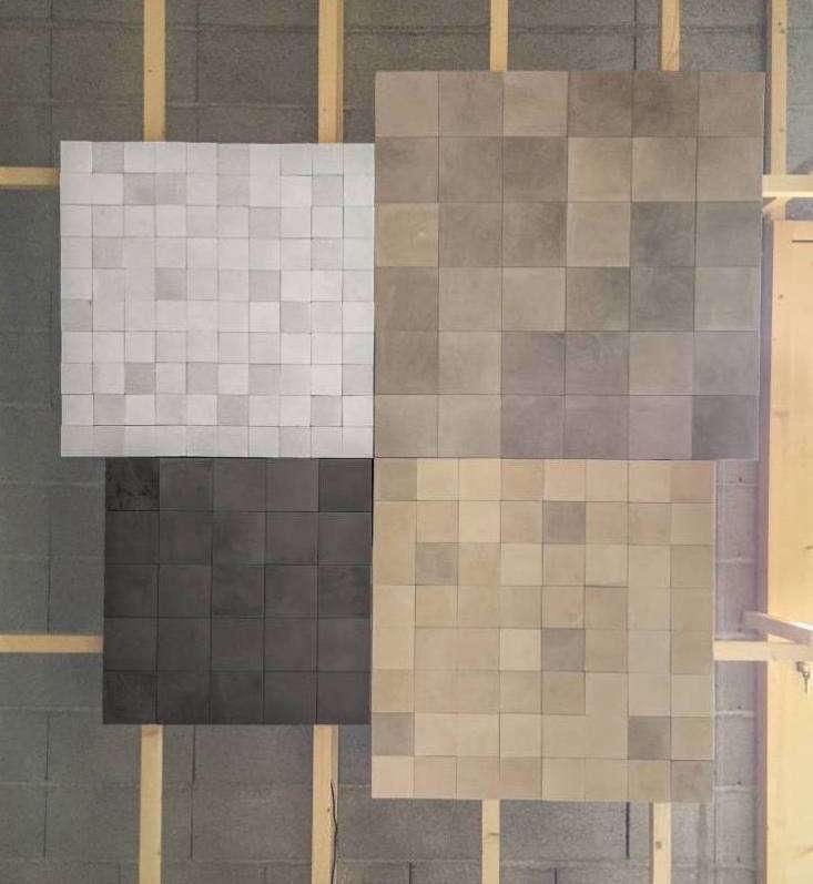 huguet mallorca cement tiles tan brown white