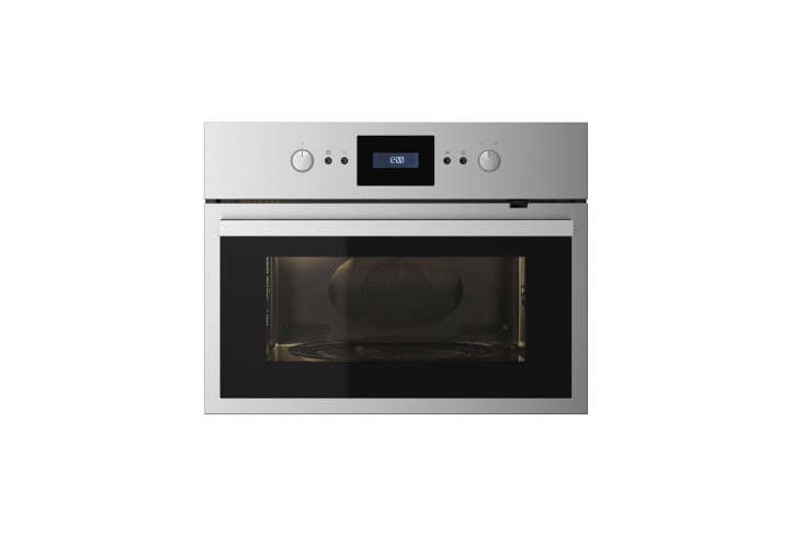 Marcia and Durrell sourced a combination microwave/oven at Ikea. The Raffinerad Microwave Combi Oven (shown) is £500 ($687.) and only available at Ikea in the UK. The US equivalent from Ikea is the Nutid Microwave Oven for $695.