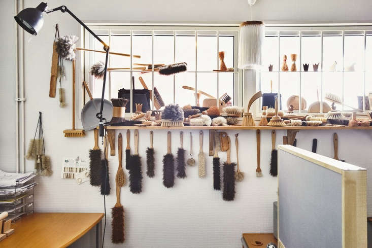 a collection of brushes made over the years. the brushes are designed by a team 10