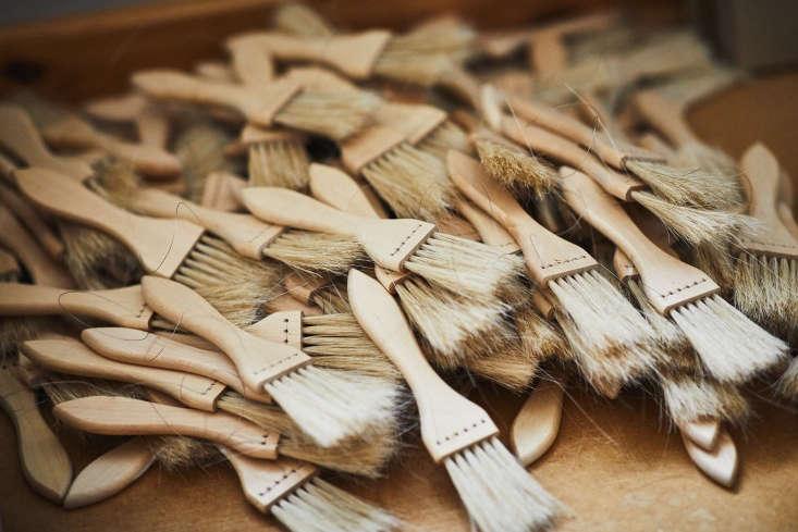 thepastry brush is made with oil treated birch and horsehair. iris hantverk b 14