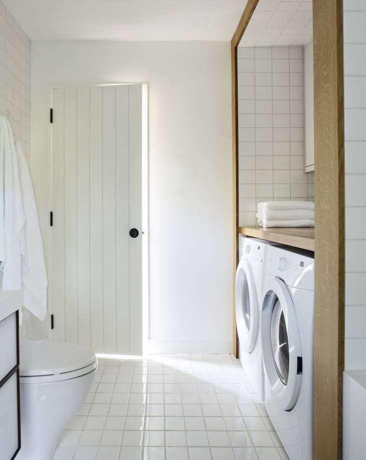 laundry room bathroom chilmark cottage shiplap door
