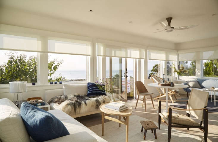 living room chilmark mass lounge chairs white walls