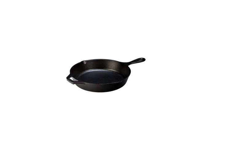 The Instant Kitchen Kit 20 Remodelista Favorites on Amazon Prime Everyone needs a basic cast iron skillet. Our pick is the Lodge Cast Iron \10 Inch Pre Seasoned Skillet for \$\24.7\1 on Amazon.