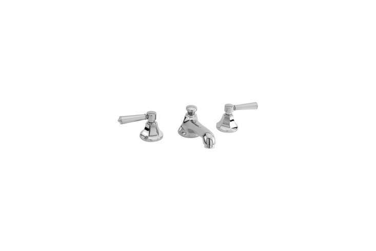 From Newport Brass, theMetropole 3 Hole Bathroom Faucet is $460.60 at Build.com.
