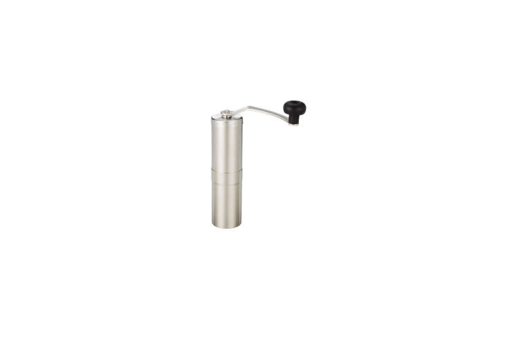 The Instant Kitchen Kit 20 Remodelista Favorites on Amazon Prime The Porlex Japanese Stainless Steel Coffee Grinder is a compact manual grinder for coffee enthusiasts; \$6\1.89 on Amazon. For others, both manual and electric, see\10 Easy Pieces: Coffee Grinders.