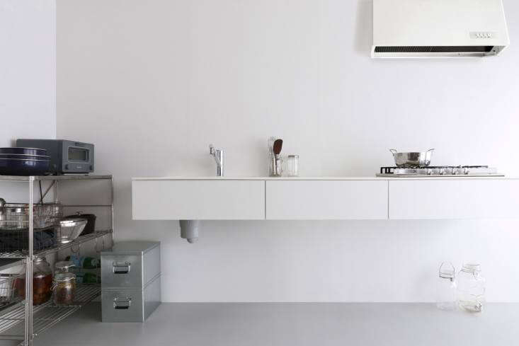 tokyo based r toolbox designs sink and cooktop units along with storage cabinet 12