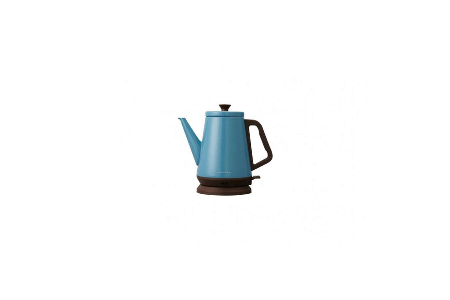 The Récolte Classic Libre Electric Kettle in blue is somethingMarcia and Durrell picked up on a trip to Hong Kong. You can find it on Amazon for $84.0
