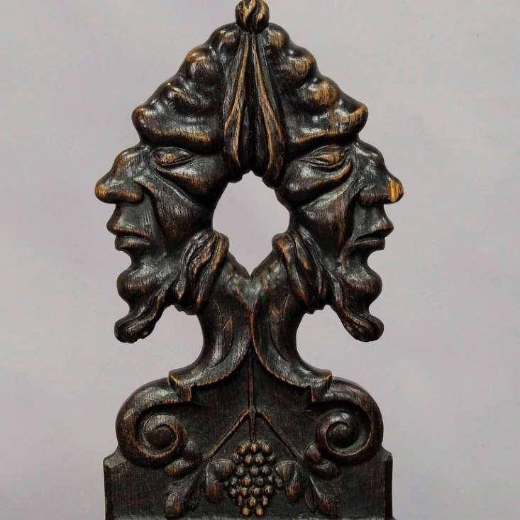 renaissance style carved chair from 1stdibs 12
