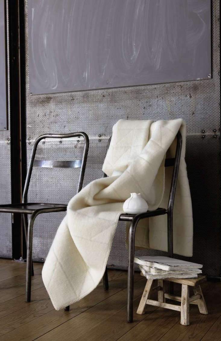 the Åre blanket from anderssen & voll is made with a tonal geometric patte 15