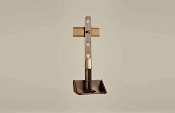 thehanging wall sconce has dovetail joinery and is \26 inches high with four  10