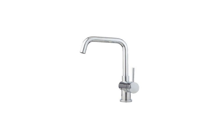The Lolita Single-Hole Kitchen Faucet with Side Spray (side spray not shown) is $9.95 at Signature Hardware.