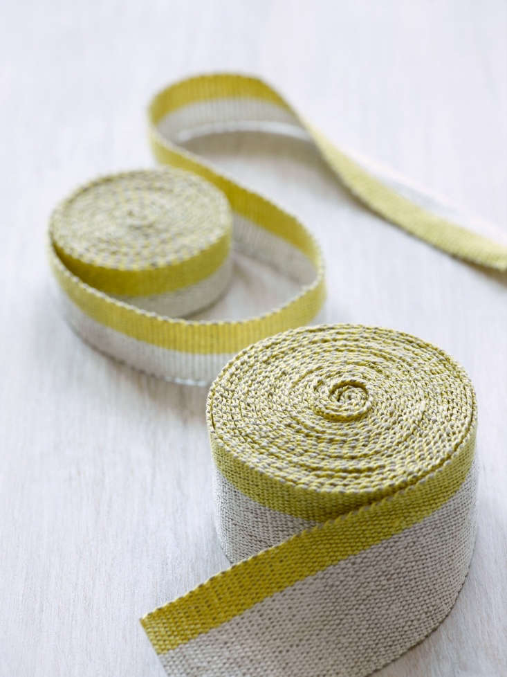 weaving linen tape, stephanie says, is &#8\2\20;very much a dance: every pu 16