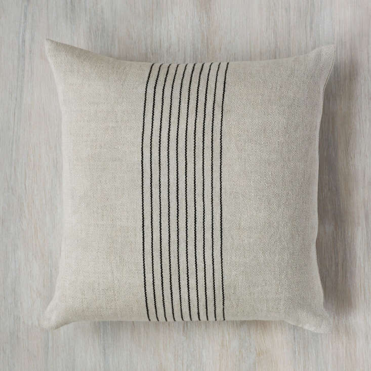the agnes handwoven linen pillow, \$3\20, is stephanie&#8\2\17;s ode to agn 20