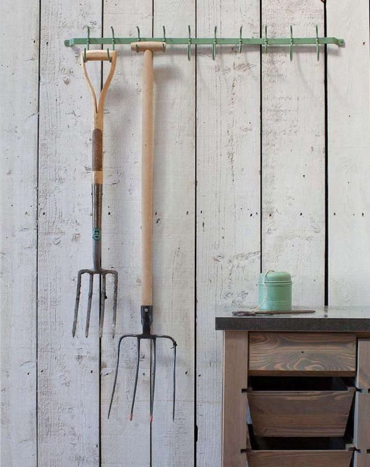 also admiring: thegarden shed tool rack from the golden rabbit, for a simple  12