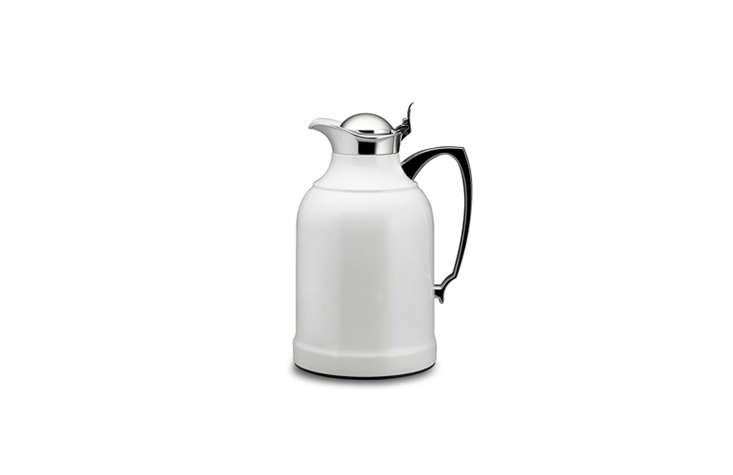 A favorite with European hoteliers, the Alfi Thermal Carafe is available in three sizes from Williams Sonoma; prices start at $9.95 for the small size.