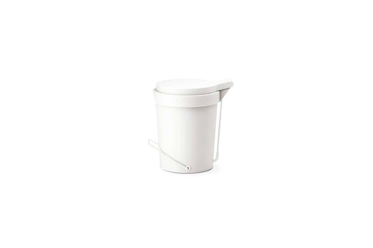 The Authentics Tip 7 Liter Pedal Bin from Germany comes in a range of colors; €3