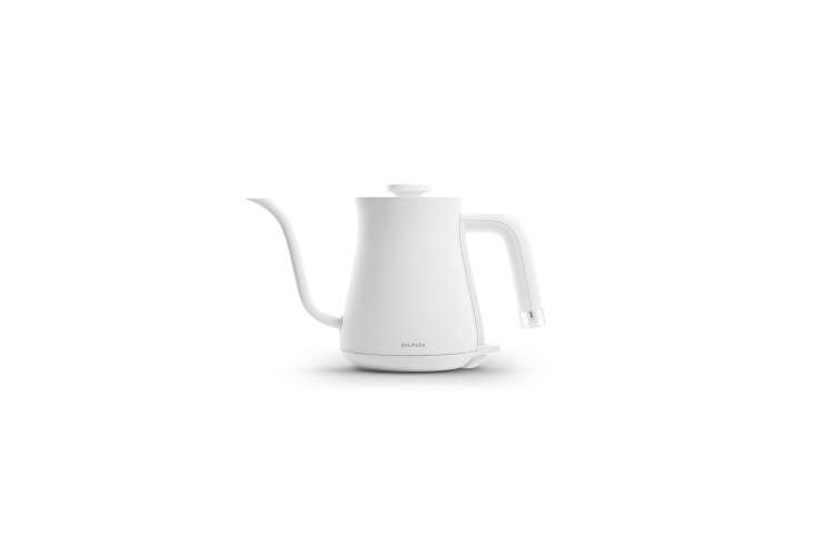 the balmuda electric kettle &#8\2\20;the pot&#8\2\2\1; in white is \$\1 11