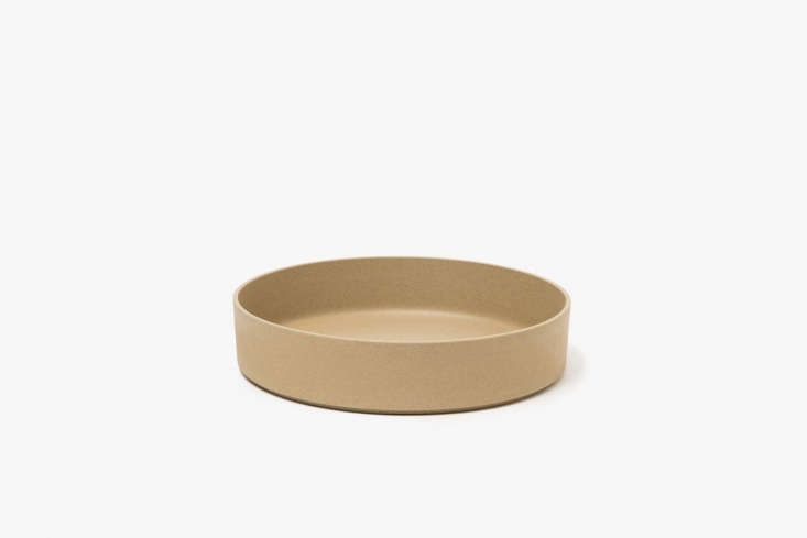 10 Easy Pieces Ceramic Trays The Hasami Porcelain Bowl in natural unglazed porcelain is \$85 for the \10 inch size at Need Supply.