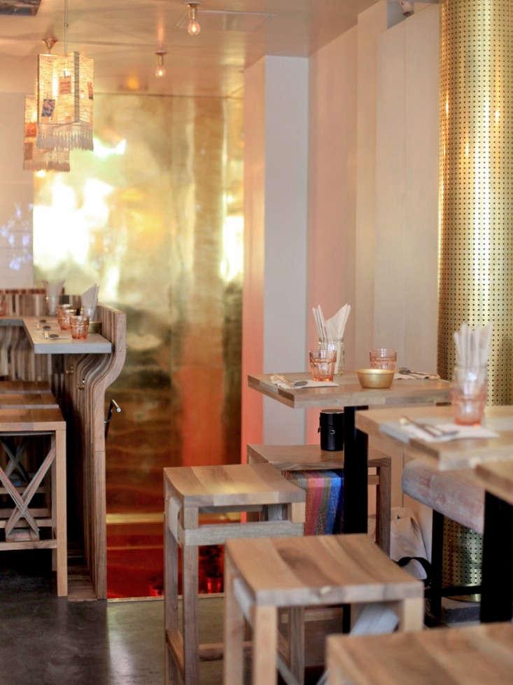 dining room at hero restaurant in paris, photo by danielle rubi 15